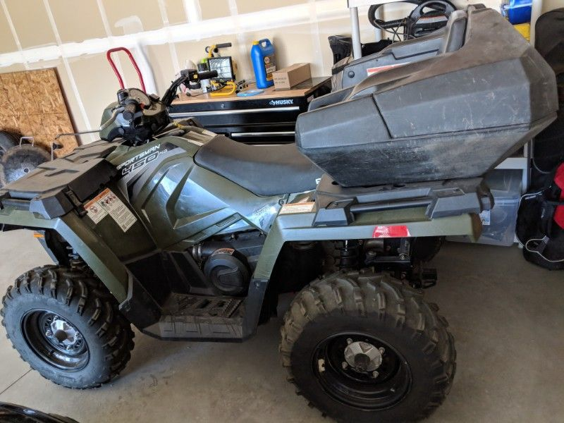 2017 Polaris 450 Sportsman HO