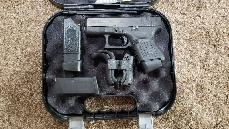 Glock 26 Gen 5 with Night Sights