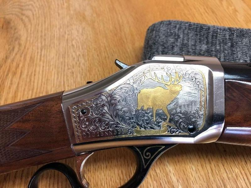 BROWNING 1885 HIGH WALL RMEF BANQUET RIFLE 7MM MAG