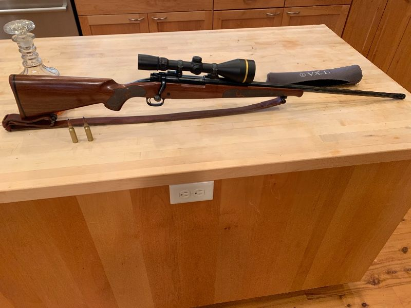 Custom Winchester Model 70 Featherweight 300 WSM