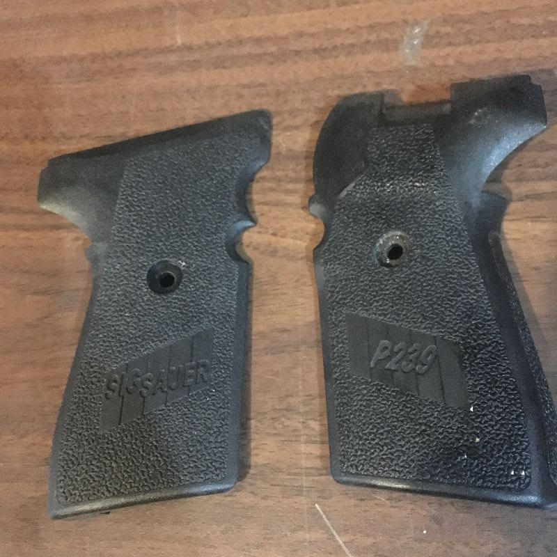 Sig P239 Factory Grips