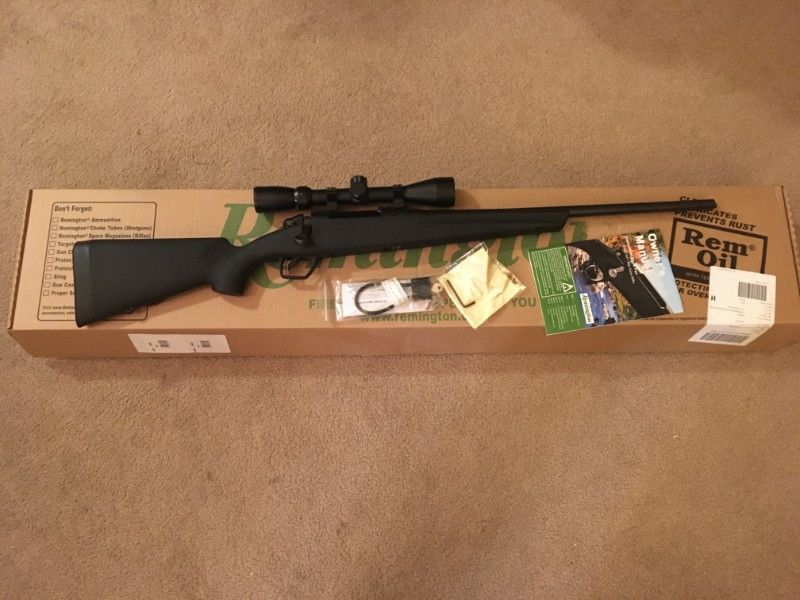 New, Remington 783, 243 Compact, w/scope