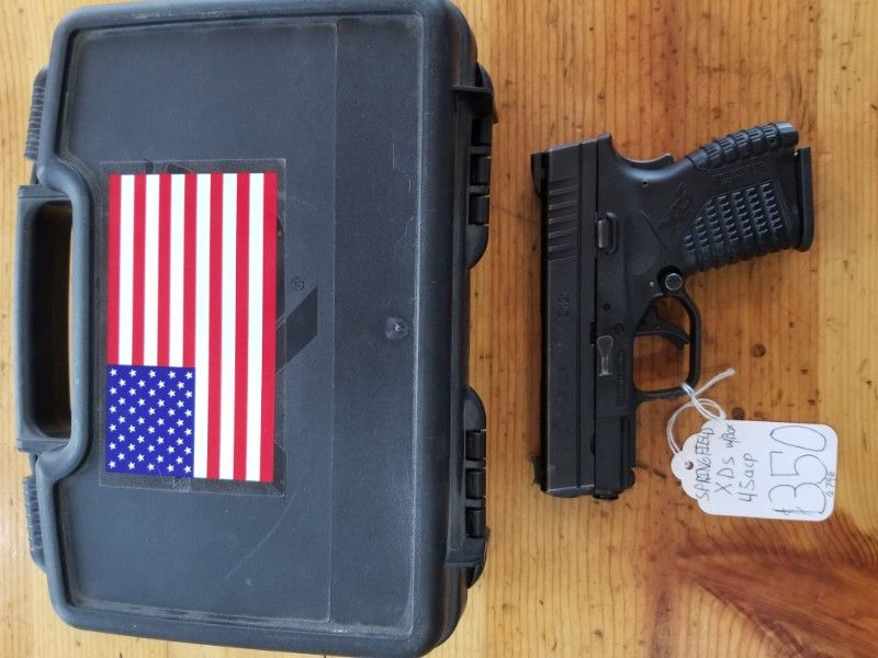 ON SALE Springfield XDs  45acp w/1 mag
