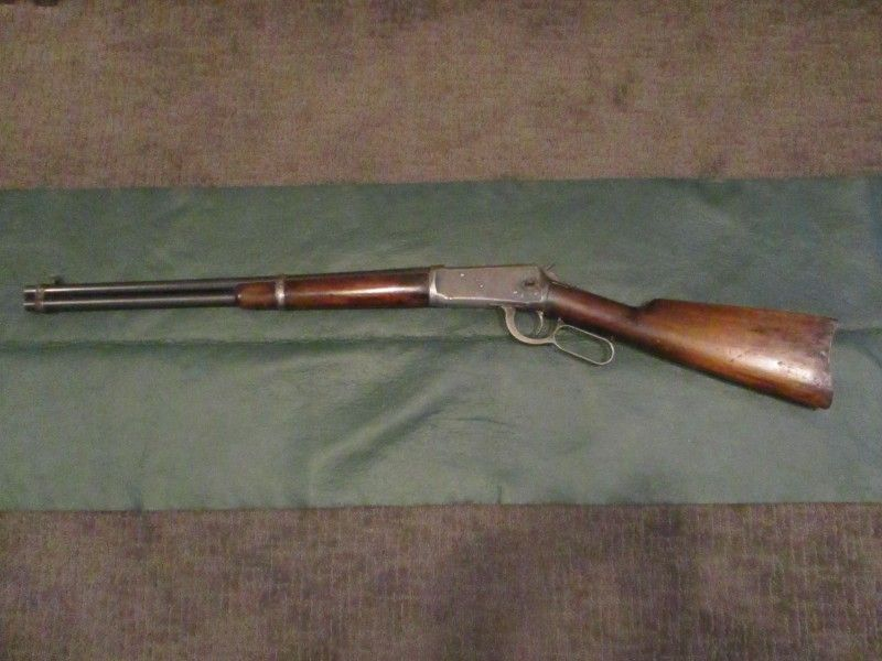 1907 Winchester 1894 32 WS saddle ring Carbine