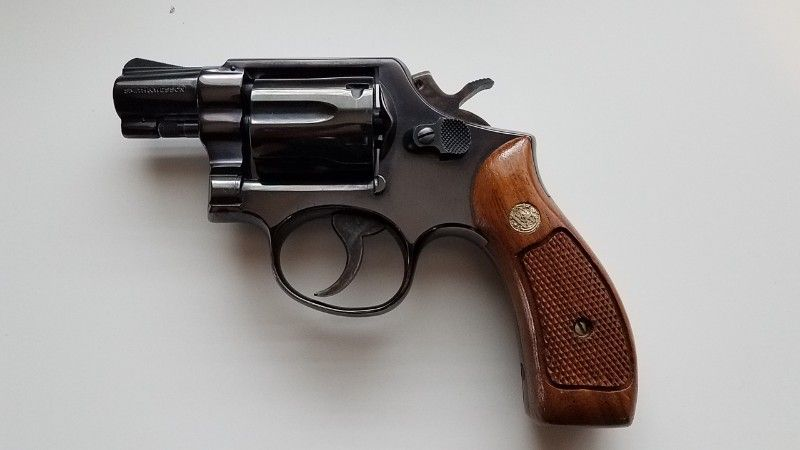 Smith and Wesson .38 model 10-5, 2 inch