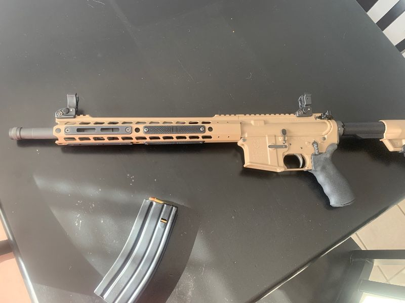 Alexander arms  Beowulf 50 cal PRICE REDUCED