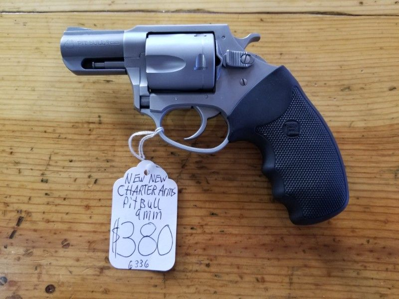 NEW Charter Arms PitBull 9mm Revolver
