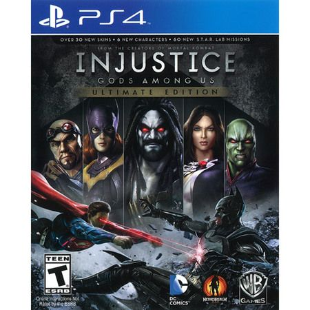 INJUSTICE GODS AMONG US PS4 I-12