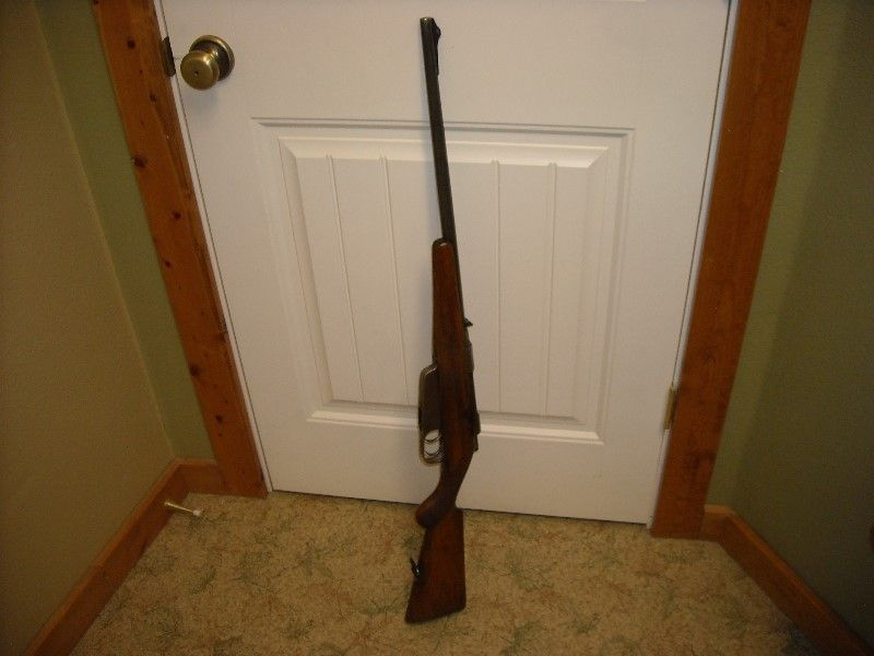 Carcano 6.5x52 Bolt Action Rifle