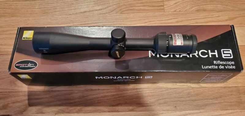 Nikon Monarch 5 3-15x42 Rifle Scope