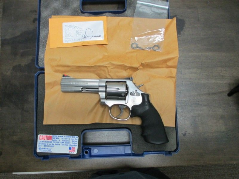 "Smith and Wesson 686 4"" .357 Mag w/Ammo $750.00"
