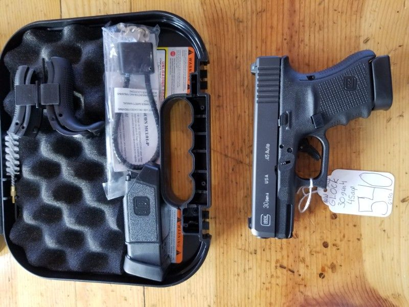 ON SALE NEW Glock USA 30gen4 45acp 2MAGS