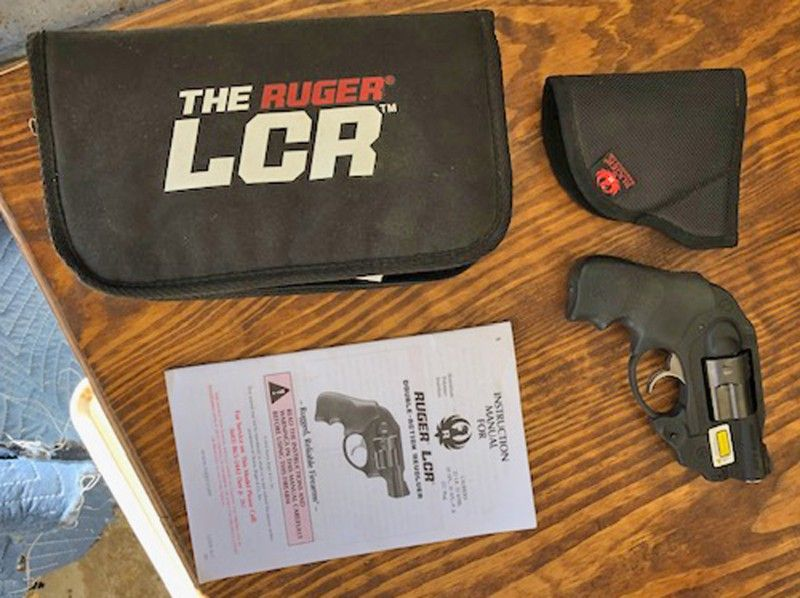 Ruger LCR .38 special w Crimson Trace Lazer