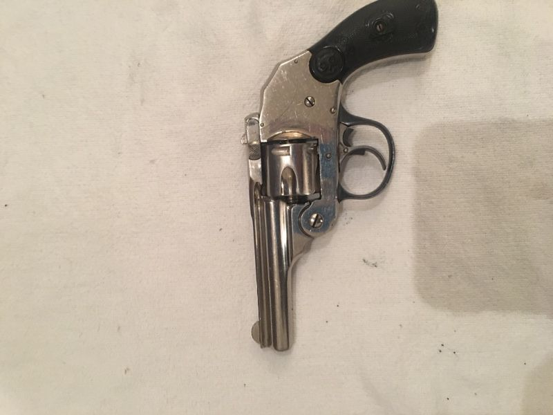 Over Johnson's Arms. 32 caliber Pistol