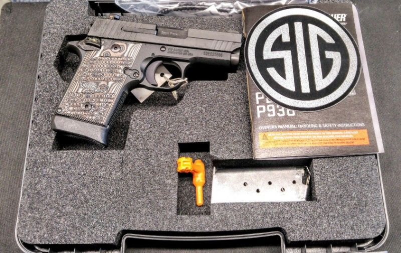 SIG SAUER P938 9MM EXTREME NEW