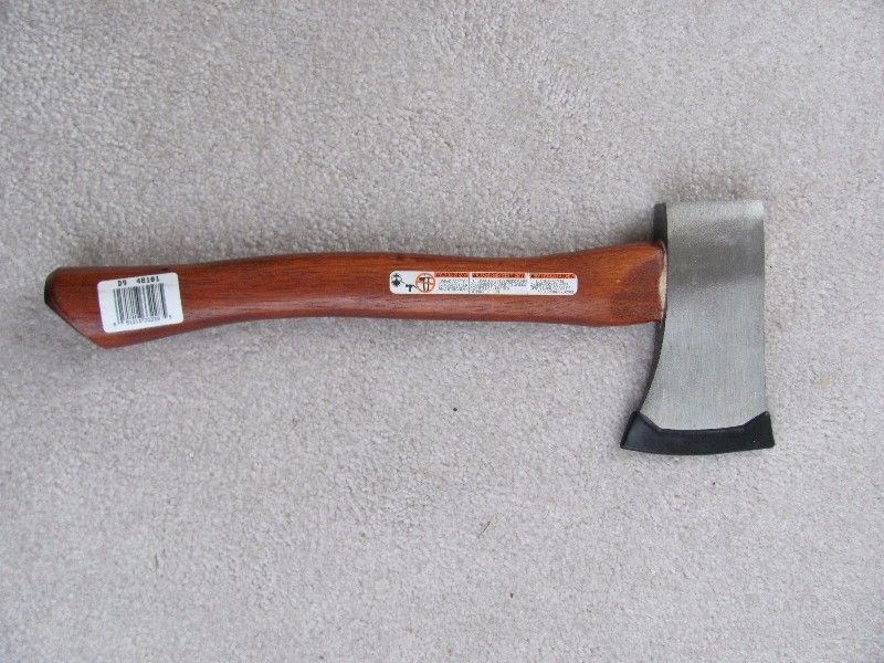NEW CRAFTSMAN-$20 & COLEMAN CAMP AX-$10 HATCHET