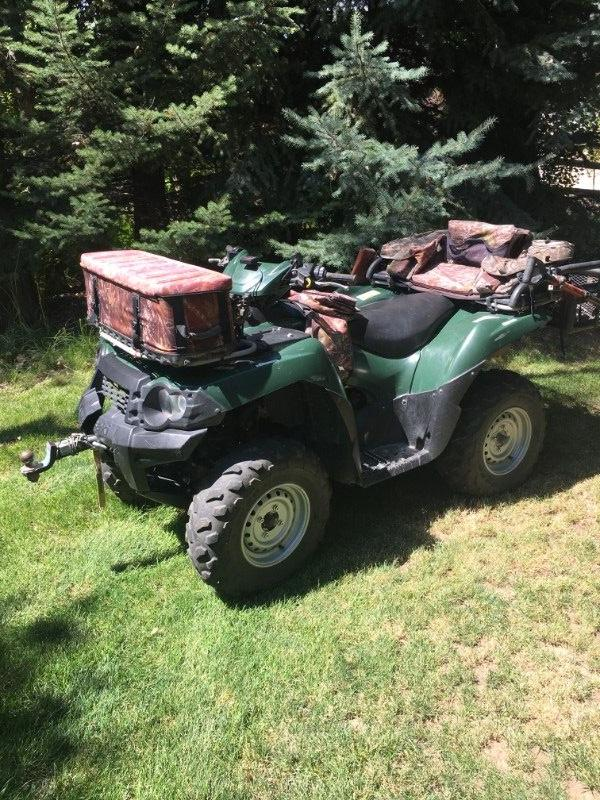 Four Wheeler 750 Kawasaki (must sell)