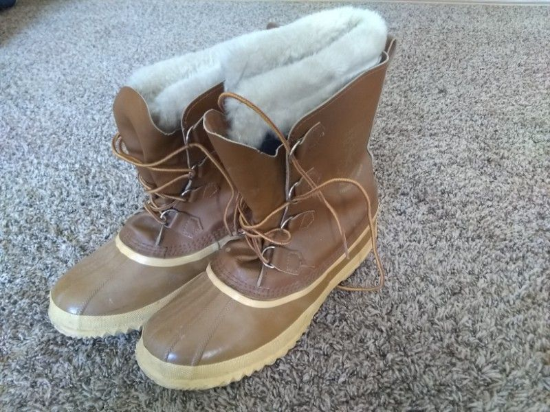 Winter Boots Manitou Sorel Size 10