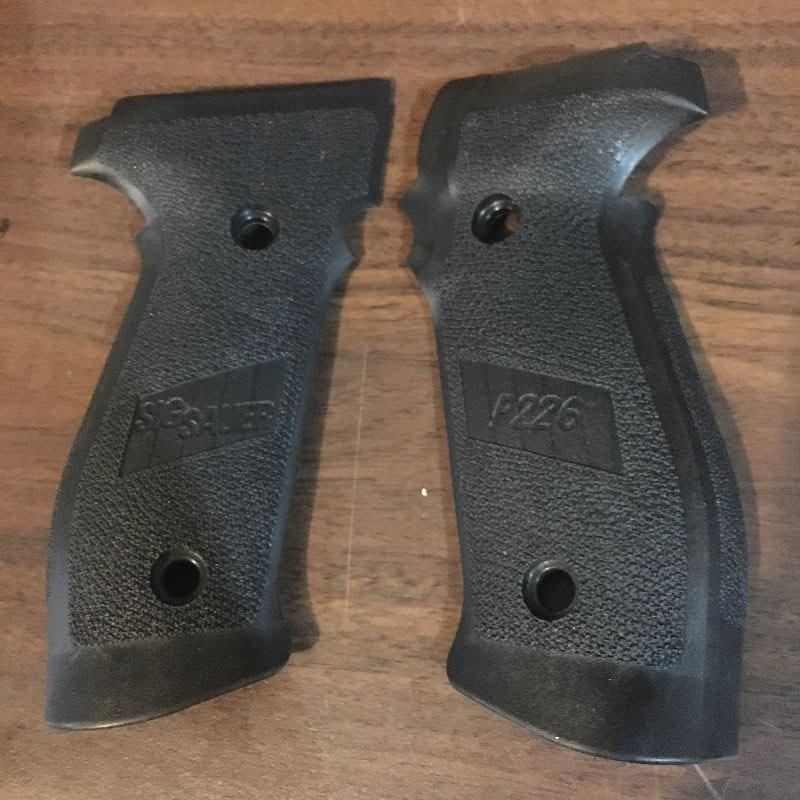 Sig P226 Factory Grips