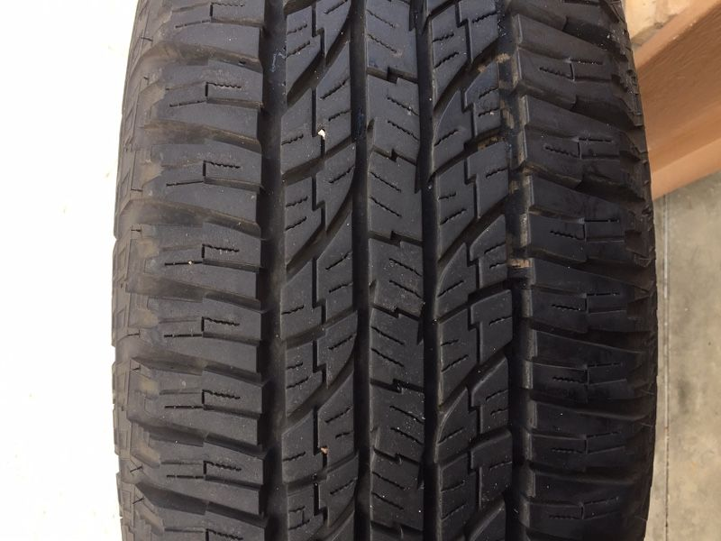 Yokohama Geolandar G015 All-Terrain Tires