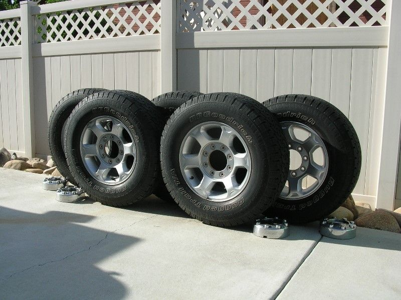 FORD SUPER DUTY F250 / F350 WHEELS AND TIRES