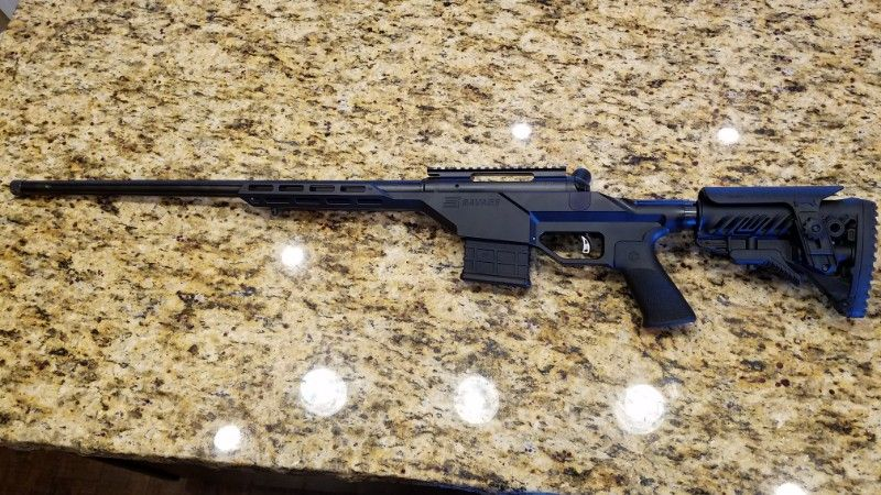 6.5 Creedmoor Savage 10BA Stealth