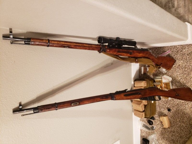 2Mosin-Nagant M91/30 and ammo