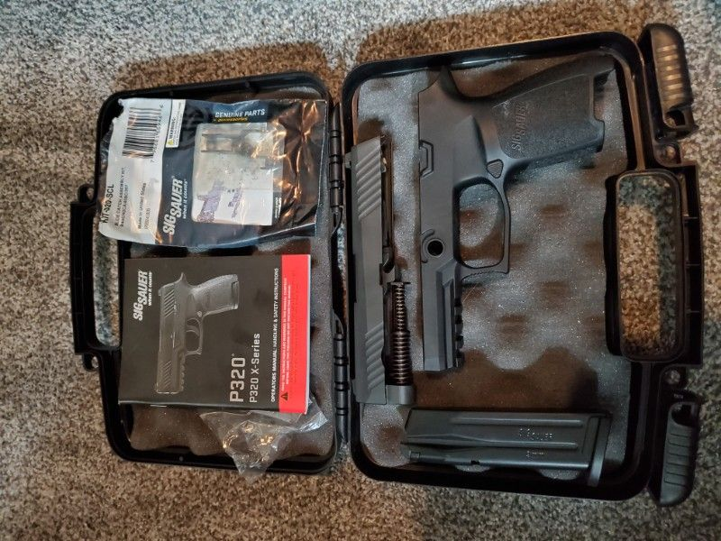 Sig P320 CALIBER X-CHANGE KIT, P320 COMPACT, 9MM