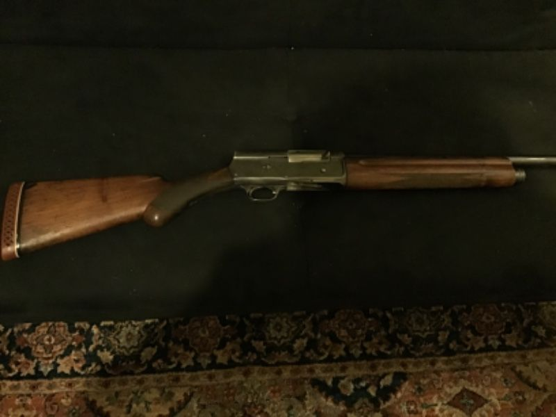 Browning A-5 semi auto shotgun