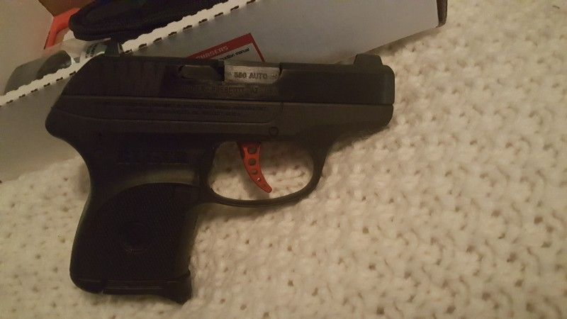 Ruger custom lcp w/extras