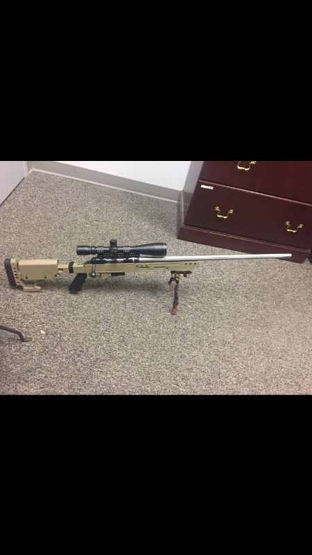 .308 Savage Long Range Rifle