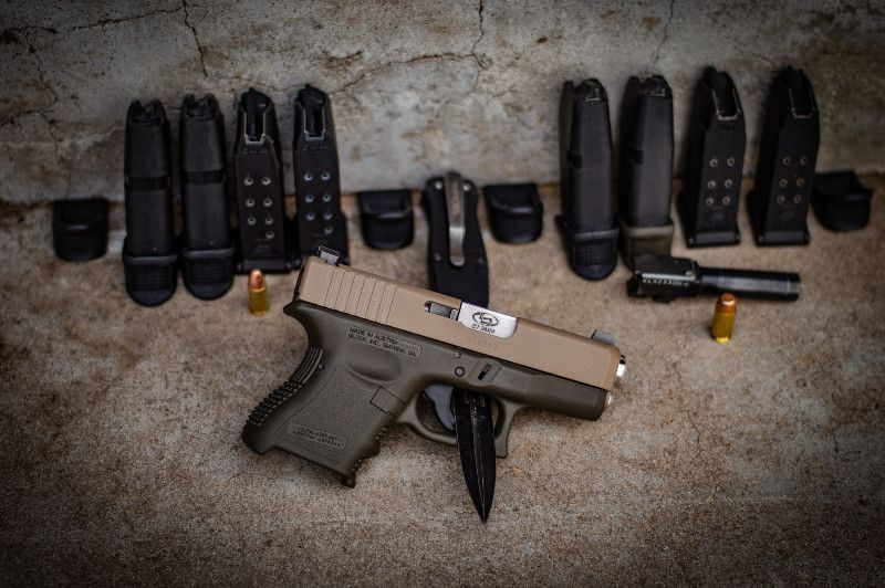 Glock 27 in 9mm and 40mm! Night sights and more!!!