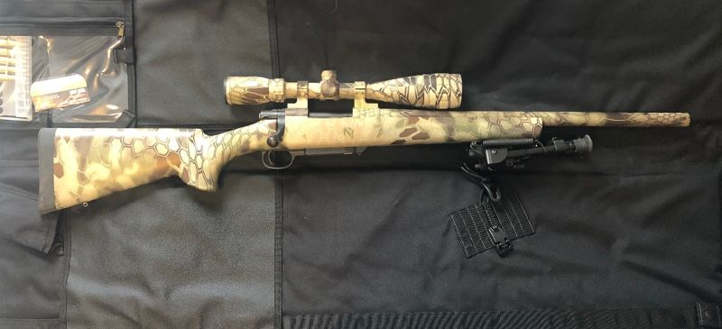 Howa Model 1500 .308 Highlander Rifle with Nikon