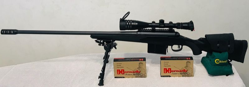 Savage Lightweight Hunter Model 111- 338 Lapua Mag