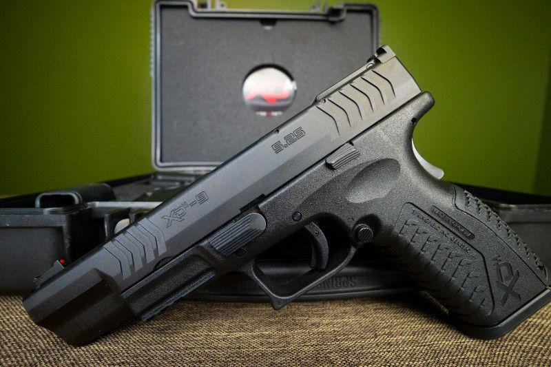 Springfield XD-M 5.25″ COMPETITION SERIES 9MM & RK