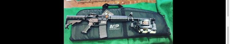 Smith and Wesson M&P15 sport 2 package deal