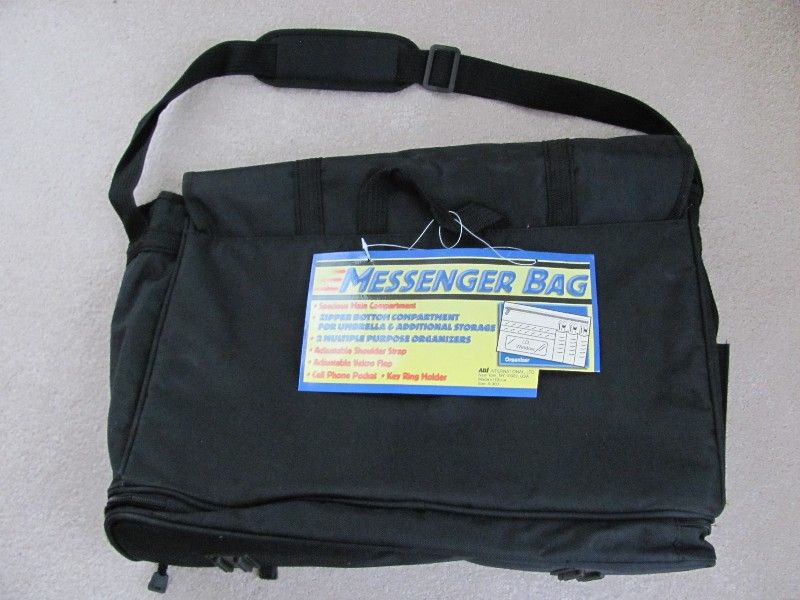 NEW! ADI MESSENGER BAG-NEW WITH TAGS,PACKAGE-$10