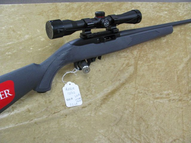 RUGER 10/22 W/SCOPE